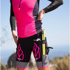 KiWAMi Equilibrium Trail Top Women black/pink